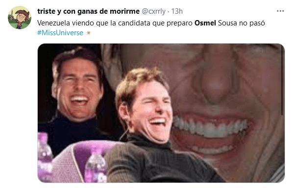 Memes de Osmel Sousa en el Miss Universo 2021 (2)