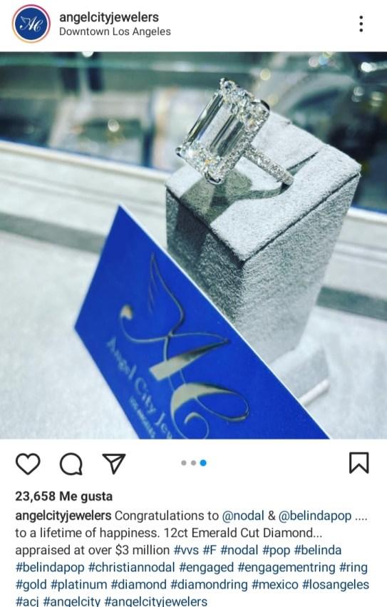 farandulavenezuela.com belinda anuncia su compromiso a traves de instagram 1