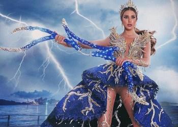 traje típico de Mariangel Villasmil para el Miss Universo 2021