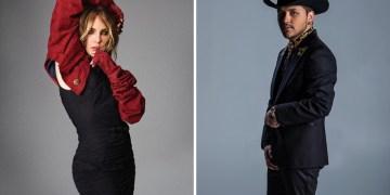 Belinda se el roba show de su prometido Christian Nodal
