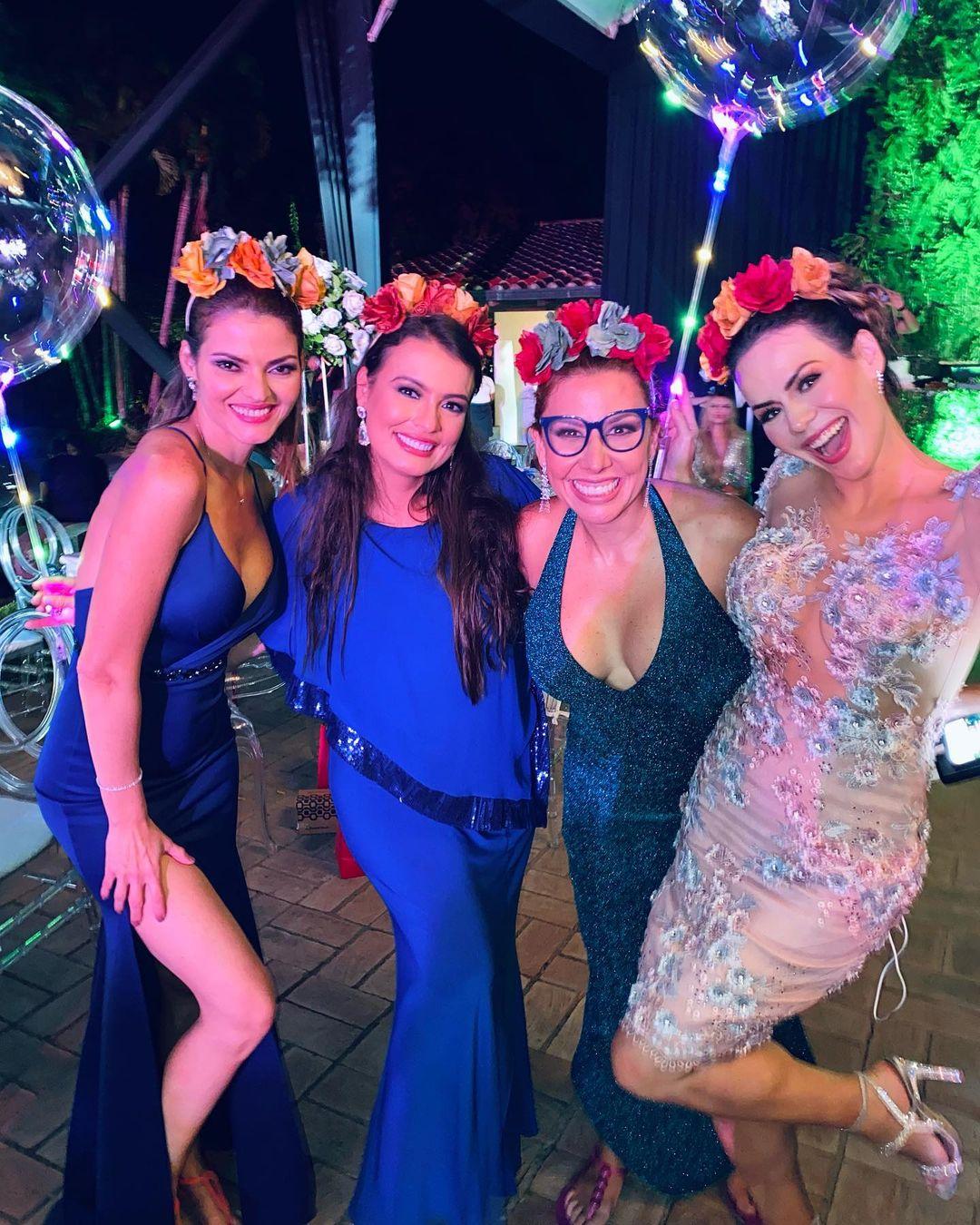 Invitados a la boda de Danielita y José Manuel - Claudia La Gatta, Bebsabe Duque, Vanessa Senior, Marisol Rodríguez
