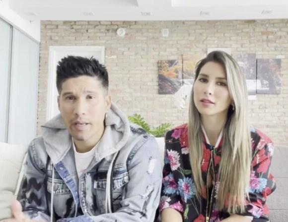 Chyno Miranda y Natasha Araos se separaron