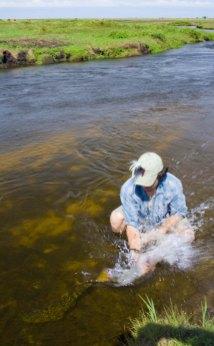 Dorado in Small Creek