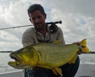 Dorado fly fishing