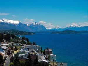 Bariloche on the shores of Lago Nahuel Huapi