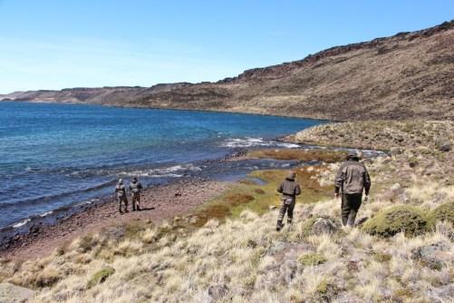 Inlet at Quiroga lake