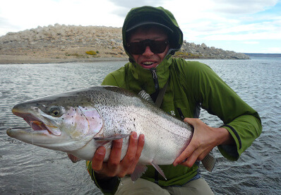 Ben Etridge Fly Fishing Patagonia