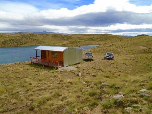The refuge at Lago Toro.