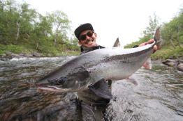 Happy angler!!