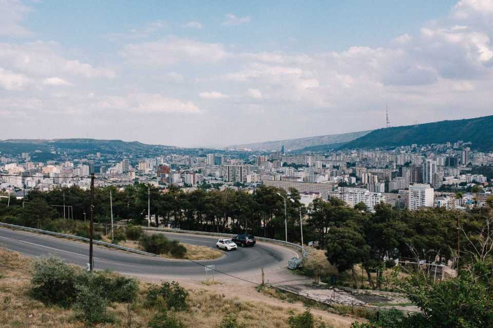 Switchback in Tbilisi