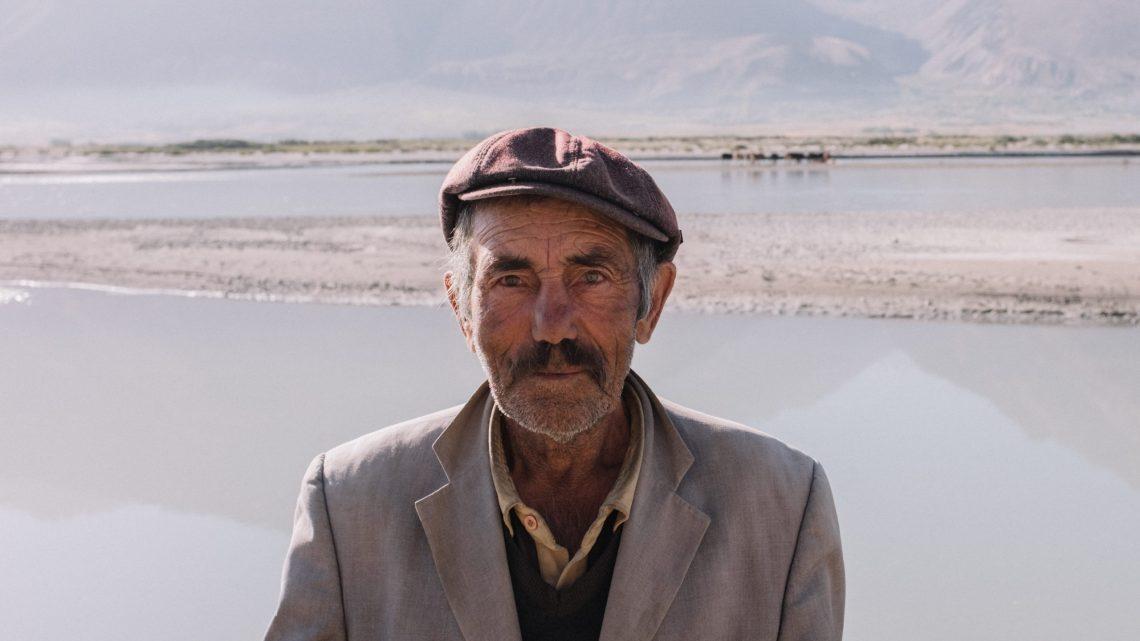 Pamir shepherd in Wakhan corridor