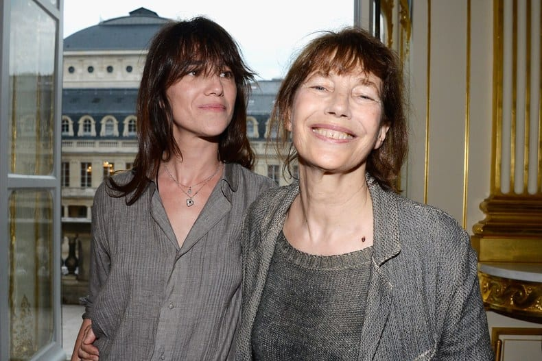 jane birkin with charlotte gainsbourg