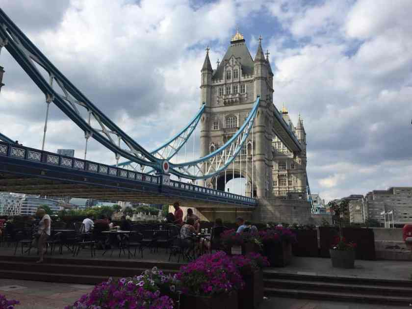 thames path - tower bridge