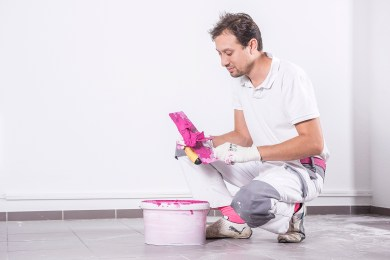 Farbkonzept - Farbgestalter - Farbdesigner - Wandgestaltung - farbiger Beton - Betonwand - Hannover - Pattensen - Kreativtechniken