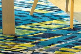 Individuelle Böden und Teppiche nach Maß