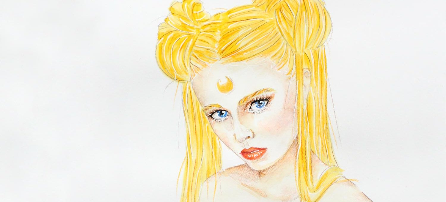 Sailor Moon Painting Illsutration