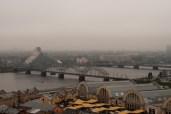 Blick auf den Zentralmarkt in Riga