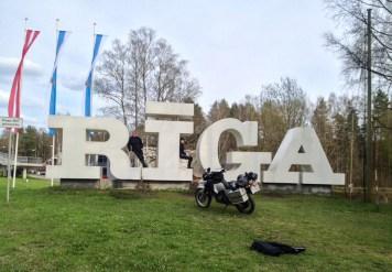 wir sind in Riga angekommen..