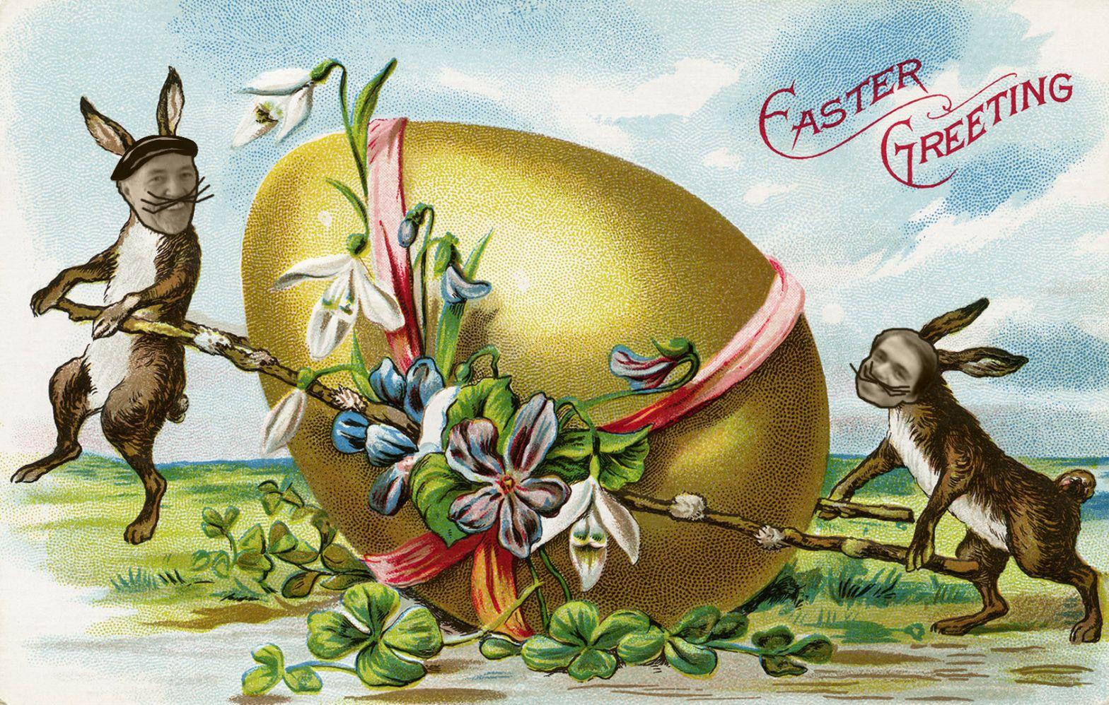 Farbror Nikos café & galleri önskar alla en glad påsk!