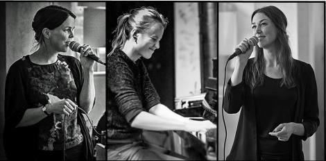 Jazz after work på Farbror Nikos café, restaurang och jazzklubb med Irene Lundberg, Cajsa Zerhouni och Antje Röβeler