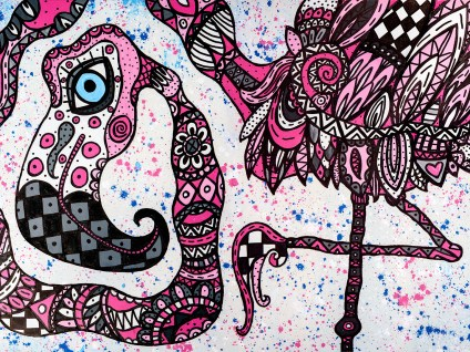 Ingo - tavla av Katja Wulff
