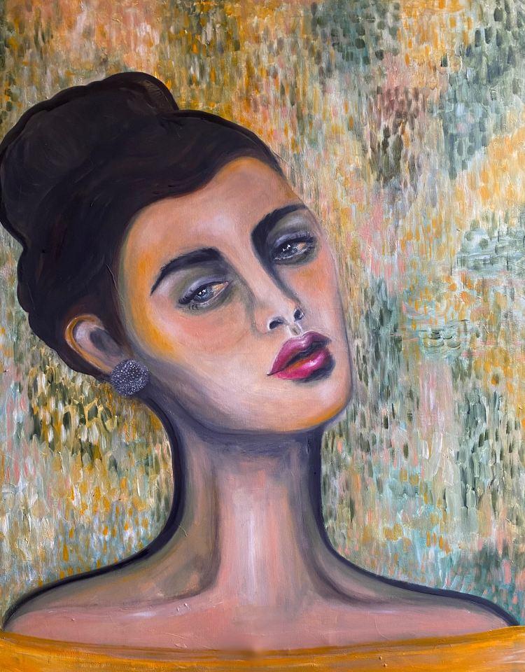 Självporträtt av Rosanna Sundin