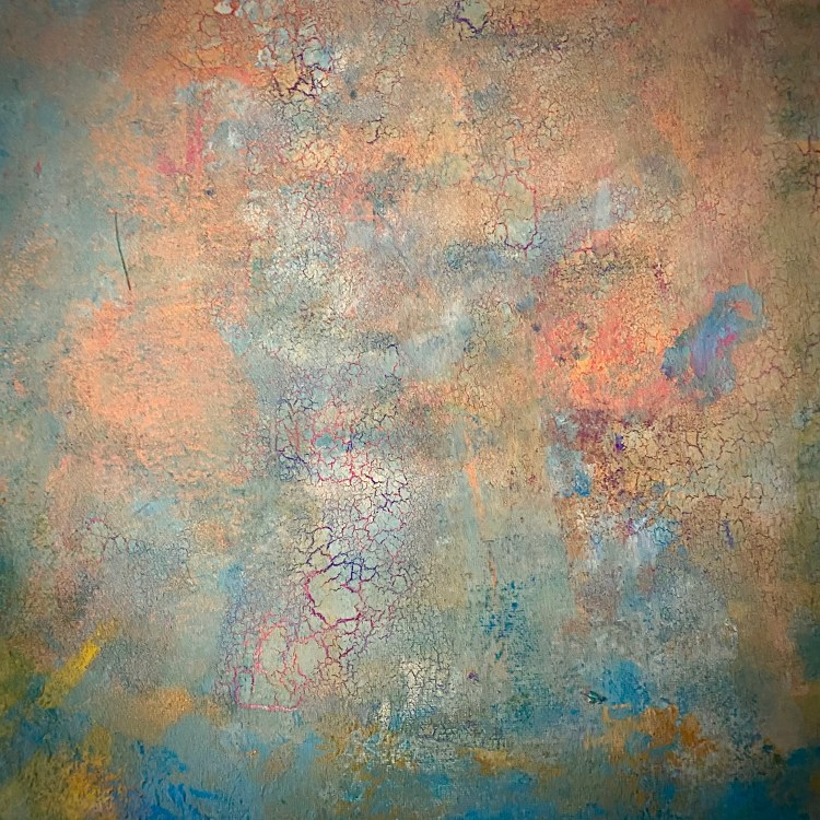 En av tavlorna som Tiffany Leiderby visar på Farbror Nikos