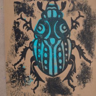 21-Postkunstwerk-Collagrafie-Insekten-106