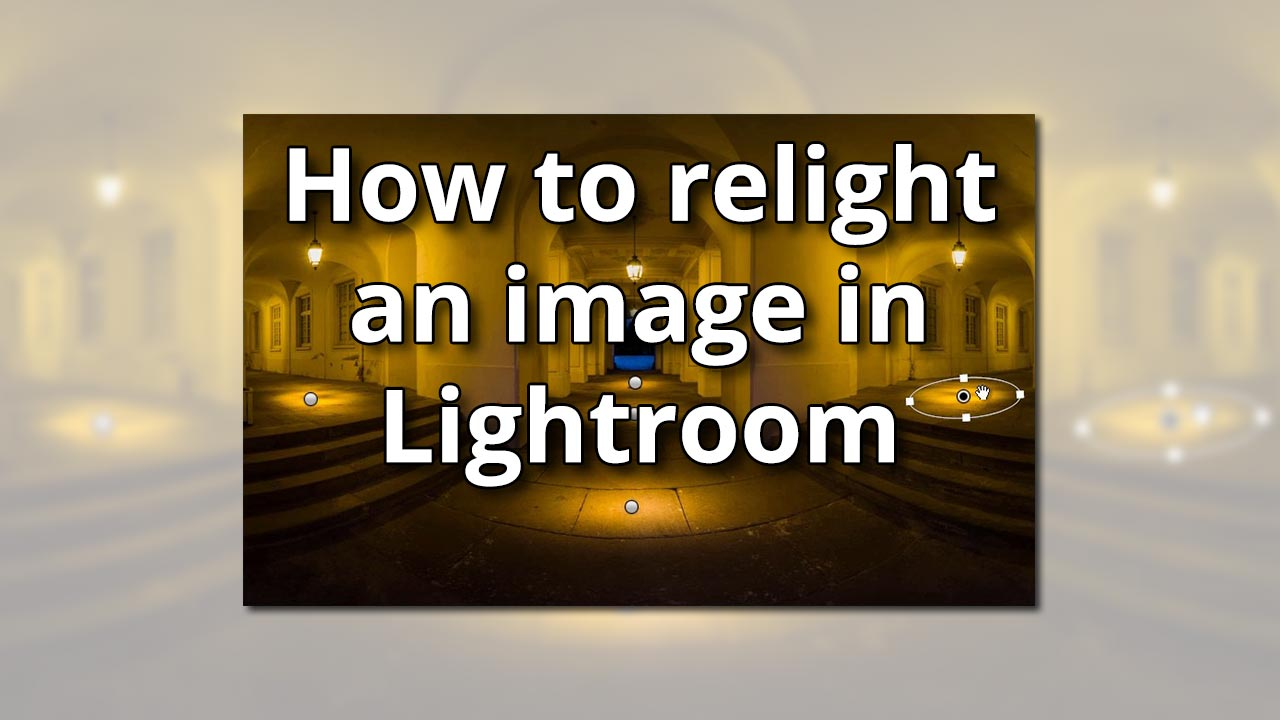 How to relight an image in Lightroom  farbspiel photography