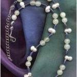 Perle, Blauquarz, Jade