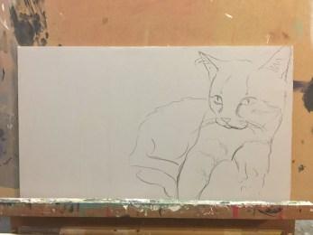 erste Skizze first sketch
