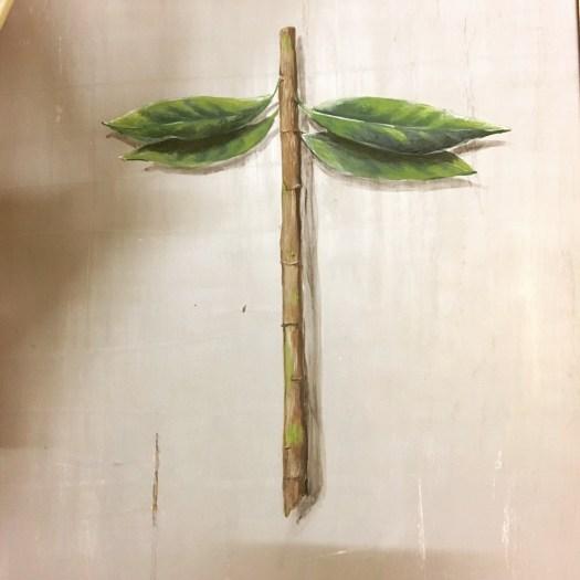 no title, Acryl auf Holz Acrylic on wood