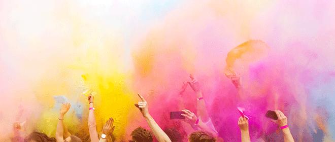 Farbe, Raum, Mensch