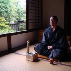 Posture Chair Cushion Mid Century And Ottoman Temple Transcendence: Zen Meditation In Kyoto | Far East Fling
