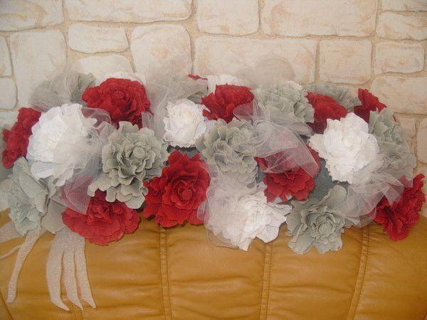 30 Idées De Décorations Mariage En Papier Crépon Repérées Sur Pinterest