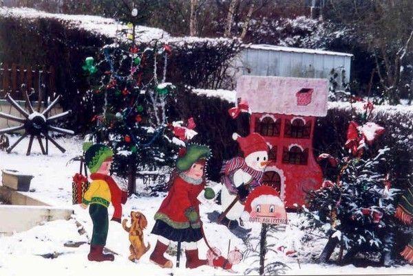 Décorations De Noël à Faire Soi Même Un Sapin Lumières