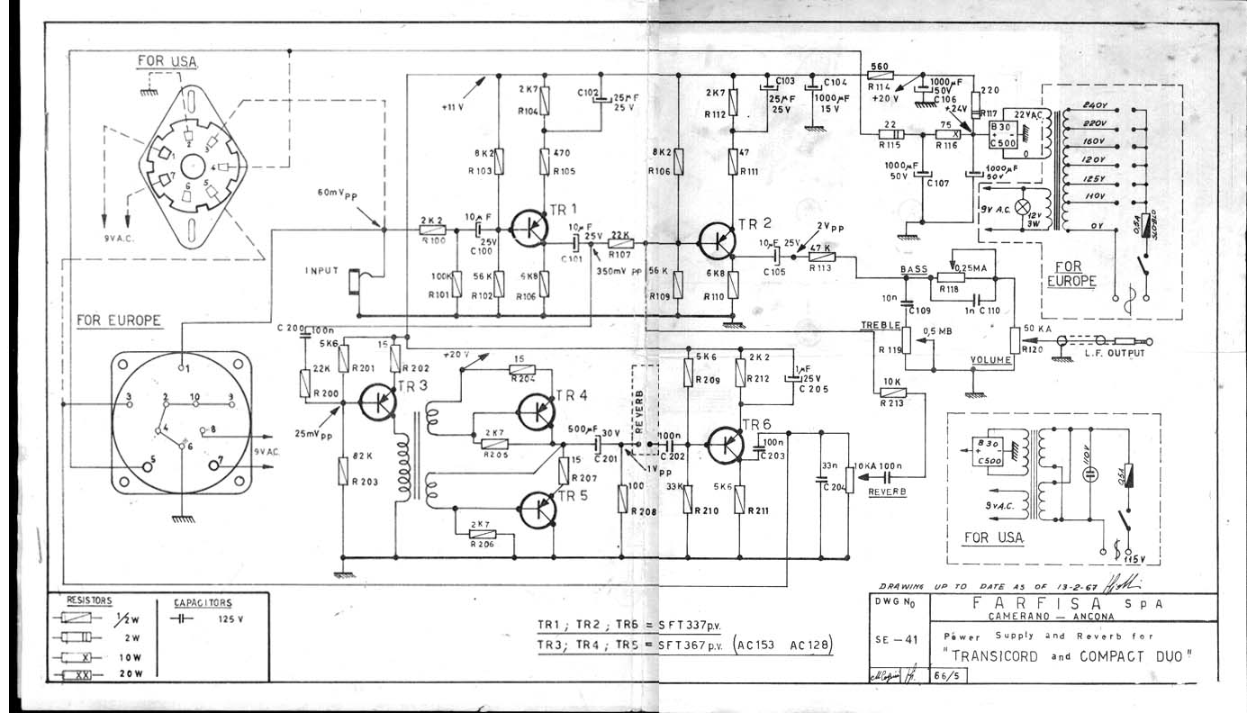 Schematics Archives Farfisa Org