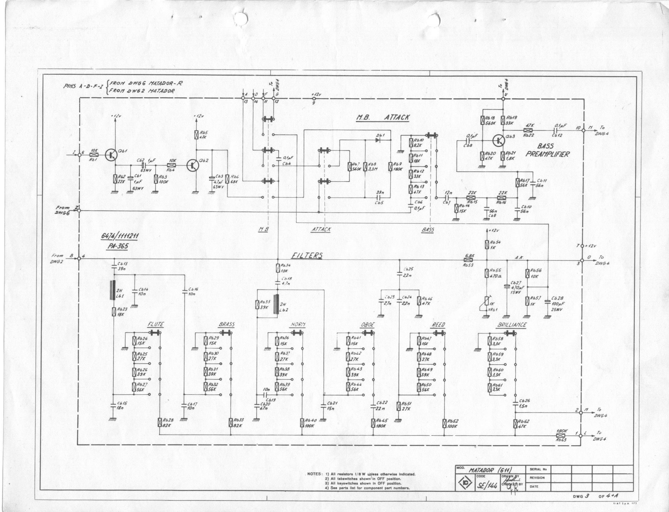 Schematics Archives - Farfisa.org on