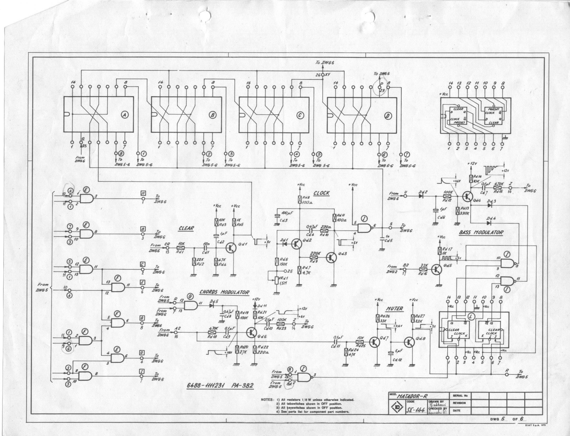farfisa matadorr electronic organ schematic diagrams wire center u2022 rh 144 202 20 230