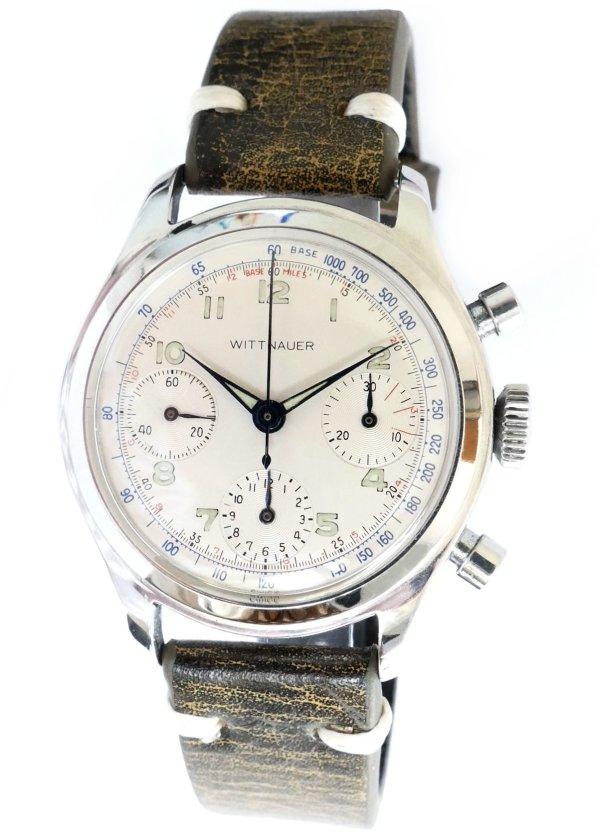 Wittnauer 800 Triple Register Valjoux 72 Chronograph