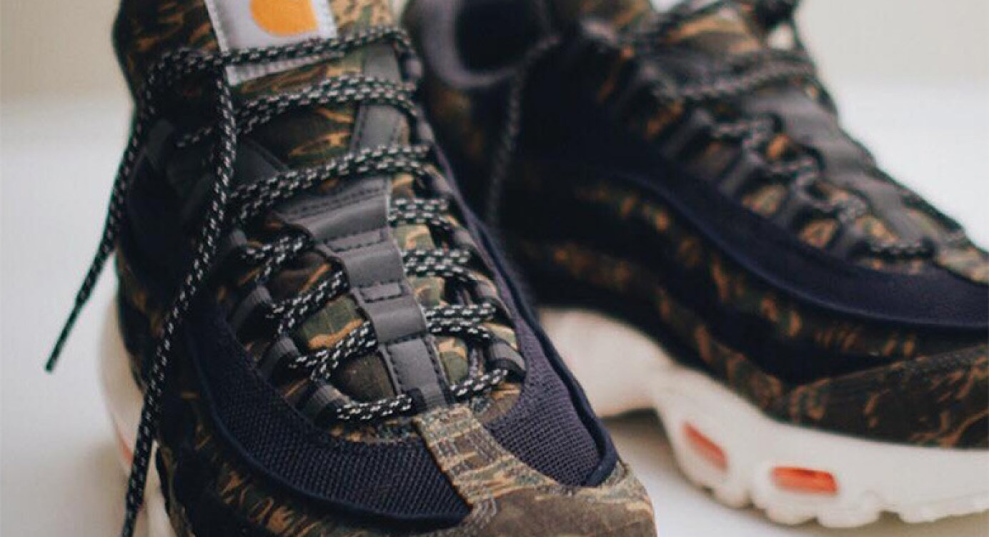 First Look At The Carhartt x Nike Air Max 95 b2e8cf48e
