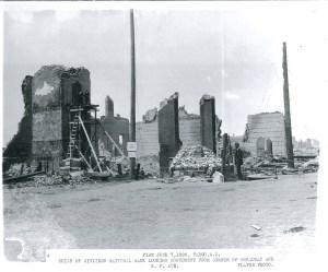 Ruins of Citizen's National Bank