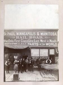 St. Paul, Minneapolis & Manitoba Rail Road ticket office, Fargo, ND