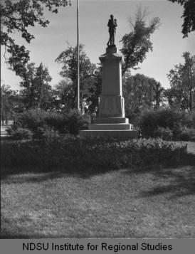 GAR Monument, Island Park, Fargo.