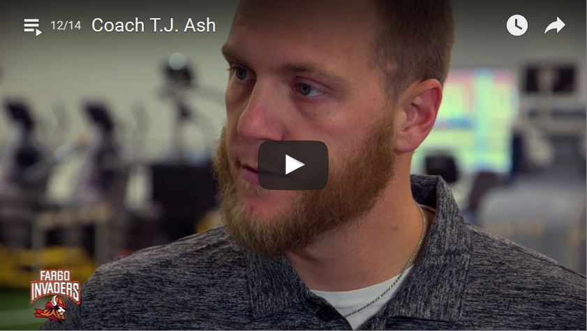 Invaders Receivers Coach TJ Ash Interview