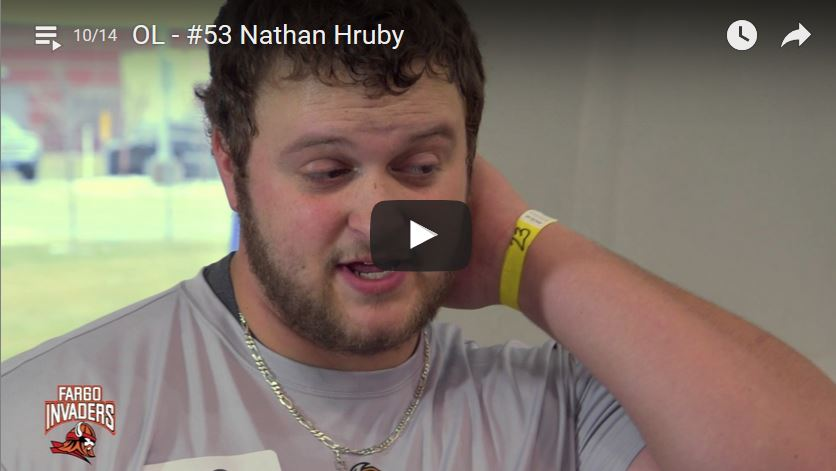 Offensive Lineman Nathan Hruby Interview