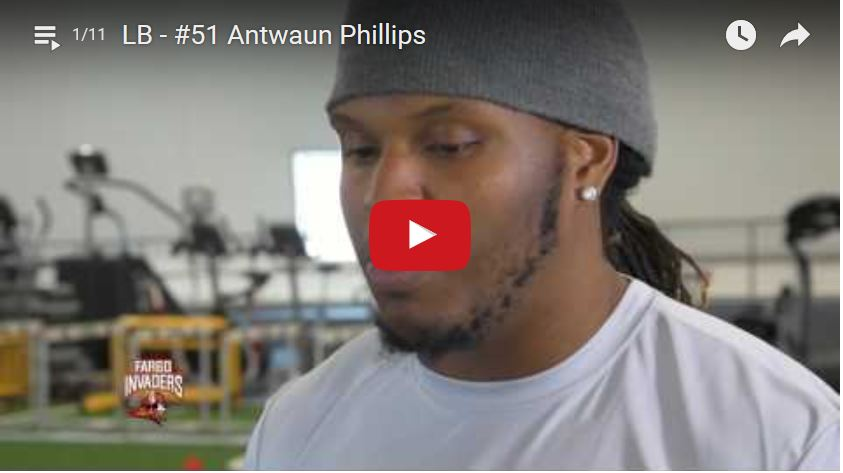 Linebacker Antwaun Phillips Interview