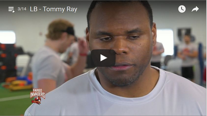 Linebacker Tommy Ray Interview