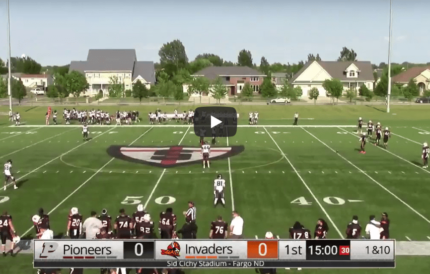 WATCH LIVE – Fargo Invaders Vs St Paul Pioneers