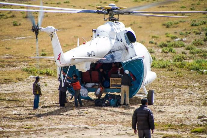 Russian Mil Mi-8AMT Hip in Khumbu